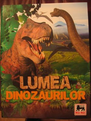 Lumea Dinozaurilor Mega Image Album complet foto