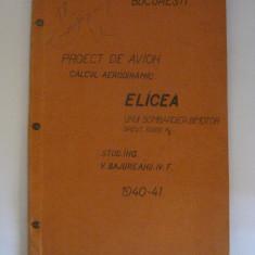 RARITATE! PROIECT DE AVION(CALCUL AERODINAMIC) PENTRU ELICEA UNUI BOMBARDIER BIMOTOR DIN 1940-1941