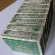 10 CUTII CHIBRITURI ZODIAC LIPITE CU SCOCI, CU BETE DE PARAFINA DIN ANII 80