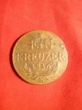 Moneda 1 Kr.1816 litera E (Transilvania) Austria ,cal.F.Buna ,bronz