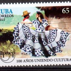 CUBA 2011, Dans, serie neuzata, MNH - Timbre straine, Nestampilat