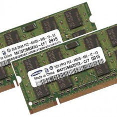 Memorii RAM DDR2  Samsung   2Gb  800Mhz pentru laptop NOI SIGILATE sodimm PC 6400