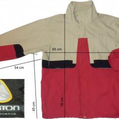 Jacheta ski schi snowboard BURTON membrana ventilatii (XL spre L) cod-145025 - Echipament ski Burton, Geci