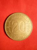 Moneda Comemorativa 20 shillingi 1980 Austria ,cal.apr.NC