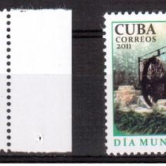 CUBA 2011, Ziua Pamantului, serie neuzata, MNH - Timbre straine, Nestampilat