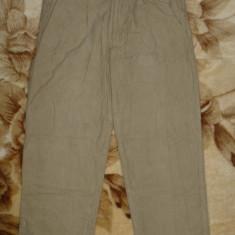 Pantaloni Marlboro Classics Quality Label USA;marime 46:80 cm talie, 94 cm lung. - Pantaloni barbati, Culoare: Crem