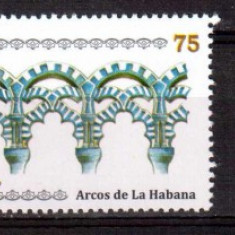CUBA 2010, Arhitectura - Arcade, serie neuzata, MNH - Timbre straine, Nestampilat
