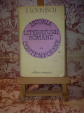 E. Lovinescu - Istoria literaturii romane contemporane vol. II