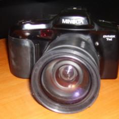 Aparat foto SLR Konica Minolta dynax 7xi+obiectiv TAMRON 28-200+husa Qpaq+acumulatori - Aparat Foto cu Film Konica Minolta