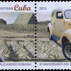CUBA 2012, Automobil, serie neuzata, MNH - Timbre straine, Nestampilat