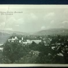 Ramnicu Valcea - Vedere generala - Sfanta Episcopie - circulata - cenzurata - Carte Postala Oltenia dupa 1918
