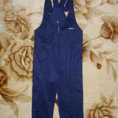 Costum alergat Adidas; 40 cm bust, 87 cm lungime fara bretele, 51.5 cm crac etc., Culoare: Bleumarin, Marime: Alta