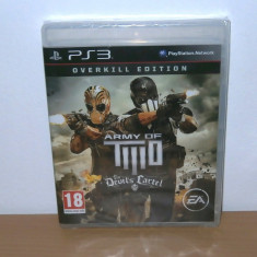 Joc PS3 - Army of Two: The Devil's Cartel : Overkill Limited Edition, sigilat - Jocuri PS3 Ea Games, Shooting, 18+
