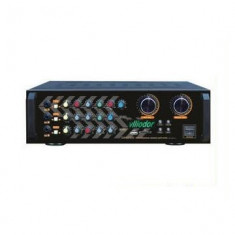 AMPLIFICATOR PROFESIONAL 210WATT,MIXER INCLUS,MP3 PLAYER, 3 INTRARI MICROFOANE,EFECTE