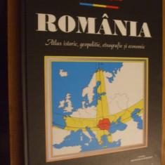 ROMULUS SEISANU - ROMANIA *  Atlas Istoric, Geopolitic, Etnografic si Economic, Alta editura
