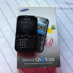 Samsung chat 335 - Telefon Samsung, Negru, <1GB, Neblocat, Fara procesor, Nu se aplica