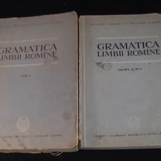 GRAMATICA LIMBII ROMANE- VOL1=444PG- VOL2=348PG-A 4-PRIMA EDITIE- - Culegere Romana