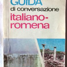 """""""GUIDA DI CONVERSAZIONE ITALIANO - ROMENA"""", Ani Virgil, 1971, Alta editura"""