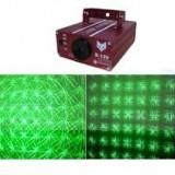 LASER DISCO DE PUTERE 150 MW ROSU+VERDE, EFECTE LASER UIMITOARE, LASER TWINKLING. - Laser lumini club