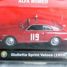 348.Macheta Alfa Romeo Giulietta Sprint Veloce - 1959 scara 1:43