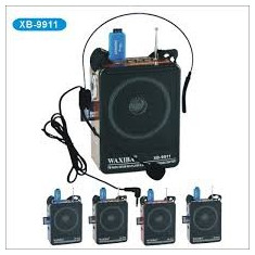 Radio FM portabil cu MP3, USB, SD, Microfon si Inregistrare Vocala - Aparat radio, Analog