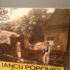 IANCU POPOVICI - MUZICA POPULARA SARBEASCA (1988) - DISC VINIL ELECTRECORD