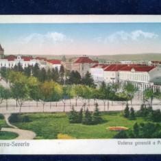 Turnu-Severin - BANAT - Vedere generala a parcului - circulata