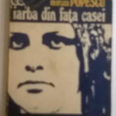 Mircea Popescu - Iarba din fata casei - Roman, Anul publicarii: 1980