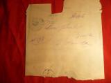 Plic spec.pt.ziare ,stamp.cu nava albastra Tataru plasa Balta jud.Braila 1896