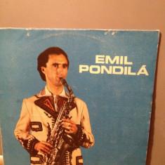 EMIL PONDILA - SOLO SAXOFON cu orchestra(1988)- DISC VINYL -ELECTRECORD - Muzica Populara electrecord, VINIL