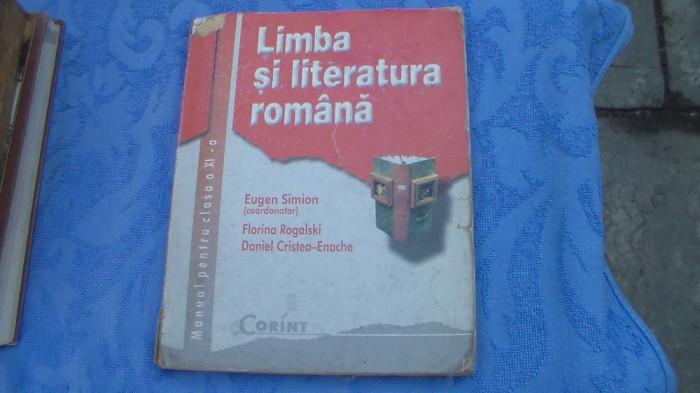 Limba si literatura Romana / cl-XI-a /