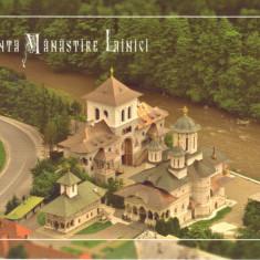 Carte postala CP GJ011 Lainici - Sfanta Manastire Lainici - necirculata