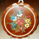 Decoratiune bucatarie / Suport oala - pictat manual