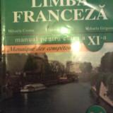 Limba franceza manual cl a XI a - Mihaela Cosma - Manual scolar, Clasa 11, Niculescu, Limbi straine