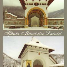Carte postala CP GJ003 Lainici - Sfanta Manastire Lainici - necirculata