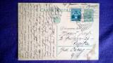 CP Intreg post-1934-Marca imprimata 3,5Lei+Fondul aviatiei+Francarea Obligatorie