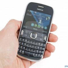 Nokia 302 super pret !!! - Telefon mobil Nokia Asha 302, Gri, Orange