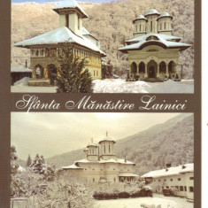 Carte postala CP GJ004 Lainici - Sfanta Manastire Lainici - necirculata