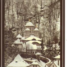 Carte postala CP GJ008 Lainici - Sfanta Manastire Lainici - necirculata