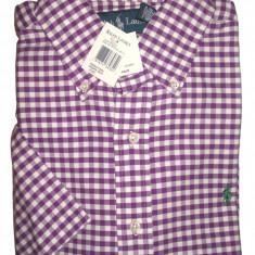 Camasa originala Polo Ralph Lauren maneca scurta  - barbati M -100% AUTENTIC