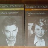 N4 Nichita Stanescu - Ordinea cuvintelor - Roman, Anul publicarii: 1985