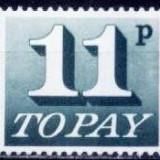 Anglia 1975 - Taxe Yv.no.85 neuzat, Nestampilat