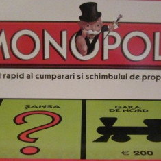 Monopoly- in limba romana - Joc board game