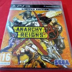 Joc Anarchy Reigns Limited Edition, PS3, sigilat, alte sute de jocuri! - Jocuri PS3 Sega, Actiune, 16+, Single player