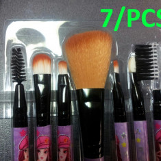 Set Trusa 7/set Pensule/Brush/ Profesionale de Machiaj make-up perfect PROMOTIE !!!!
