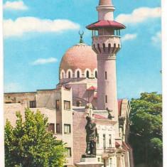Carte postala(ilustrata)- CONSTANTA- Moschea - Carte Postala Dobrogea dupa 1918, Circulata, Printata
