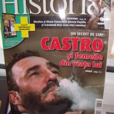 REVISTA HISTORIA 8/ 2010, FIDEL CASTRO SI FEMEILE DIN VIATA LUI - Revista culturale