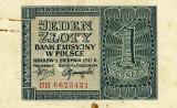 Polonia 1 zlot 1941 xf  p99 (ocupatia germana)