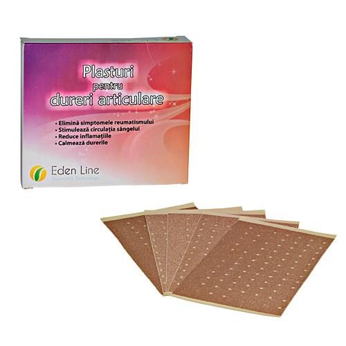 Plasturi pentru dureri articulare - 10 buc