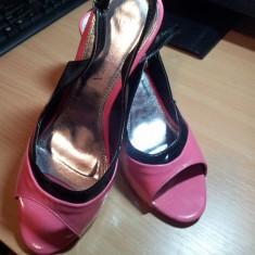 SANDALE PLATFORME LEONARDO - Sandale dama, Culoare: Roz, Marime: 38